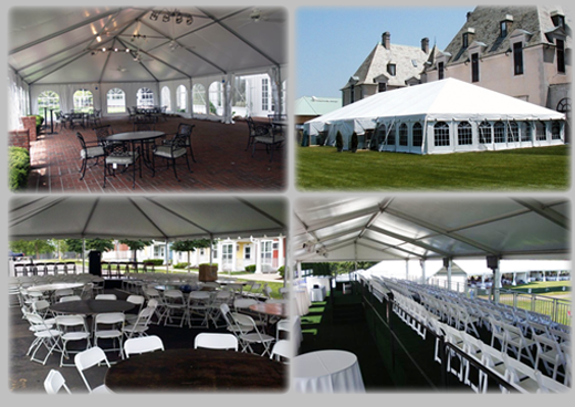Extra Large Pole Tents for Special Occasions: Corporate Events, Concerts, Galas, Sporting Events, etc